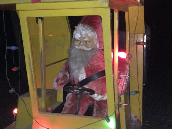 Santa at Watt Christmas Wonderland