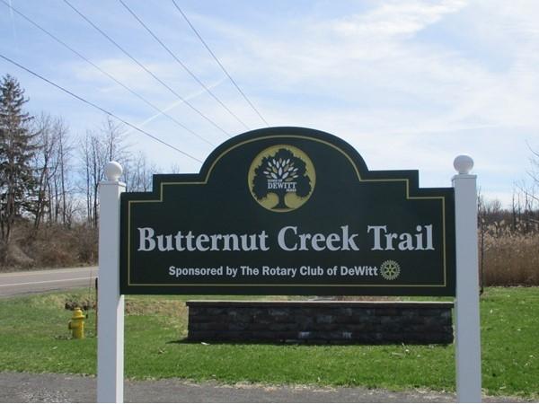 Butternut Creek Trail Head off Kinne Street between 481 and Lyndon Road