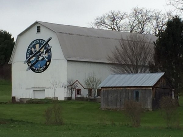 Barn art in Chittenango