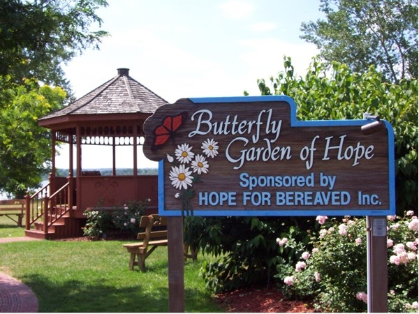 Butterfly Garden of Hope. A beautiful park in Liverpool created to remember loved ones