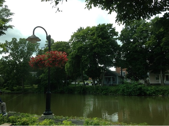 A nice day along the Erie Canal in Pittsford