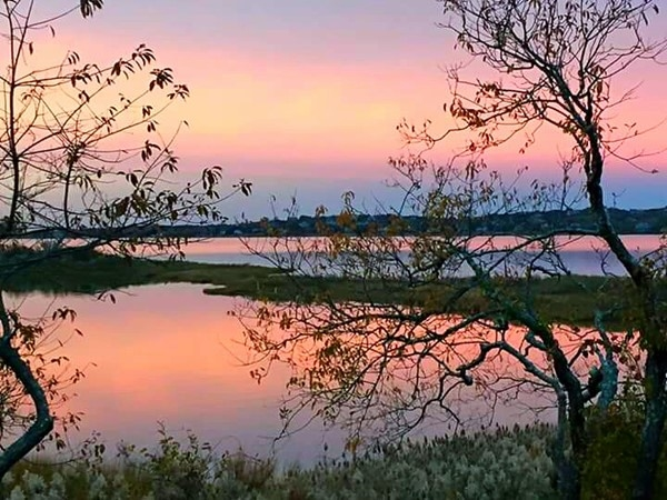 Lake Montauk at dusk