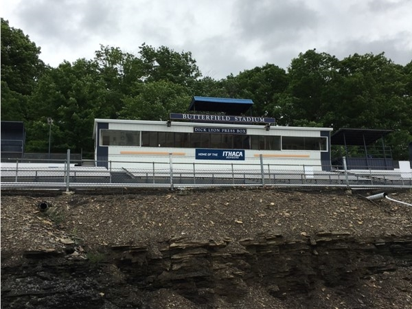 Butterfield Stadium on the Ithaca College campus