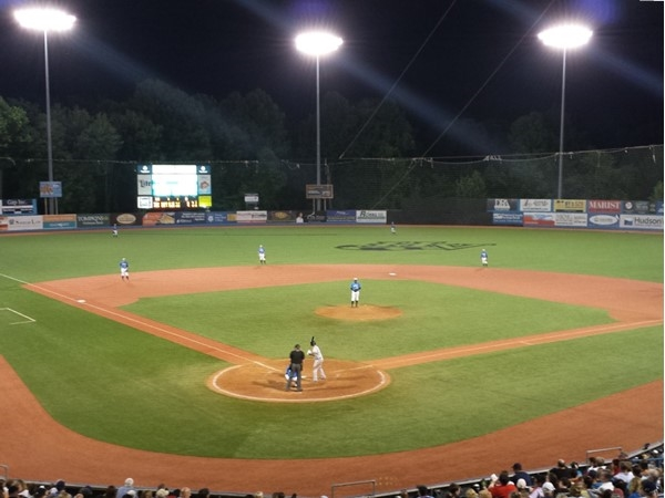 Great night watching the Hudson Valley Renegades