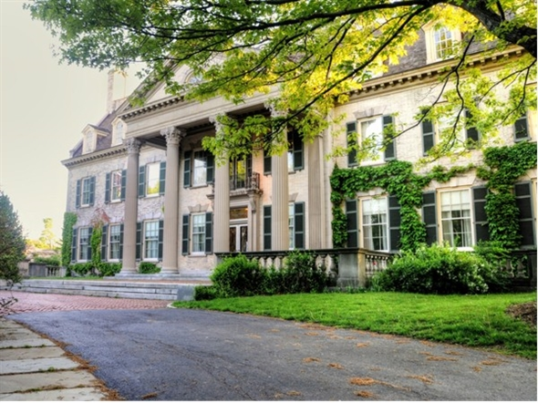 The very stately George Eastman House International Museum of Photography and Film