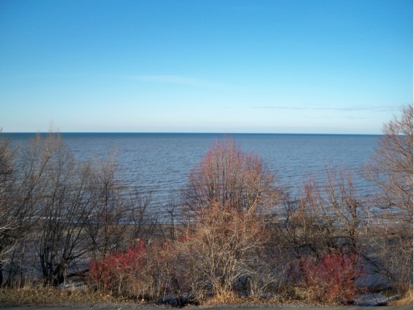 View of Lake Ontario from Durand Eastman Park in Irondequoit