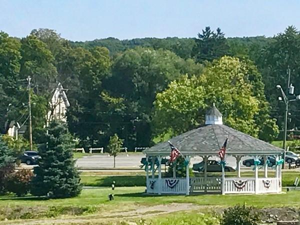 A pretty scene in the village of Monroe
