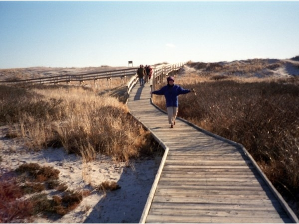 Boardwalk at Smith Point County Park