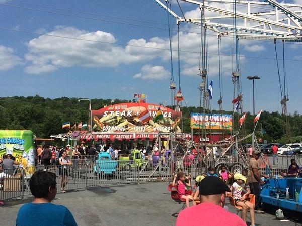 Swings at the Harriman Carnival