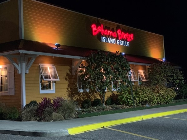 Bahama Breeze Island Grille at Smith Haven Mall in Lake Grove