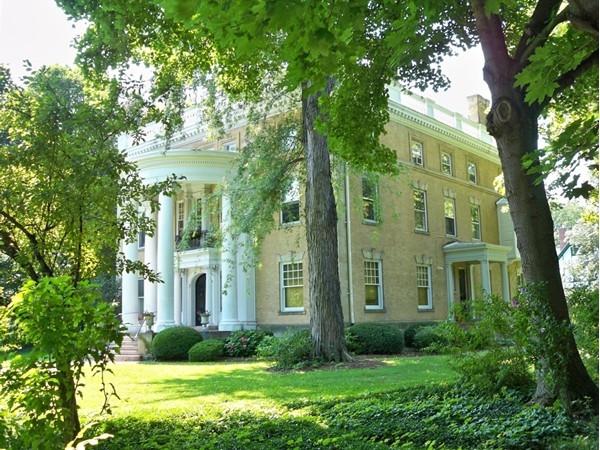 Beautiful grounds around 1163 East Avenue