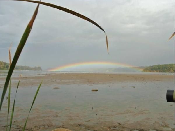 Rainbow over Irondequoit Bay