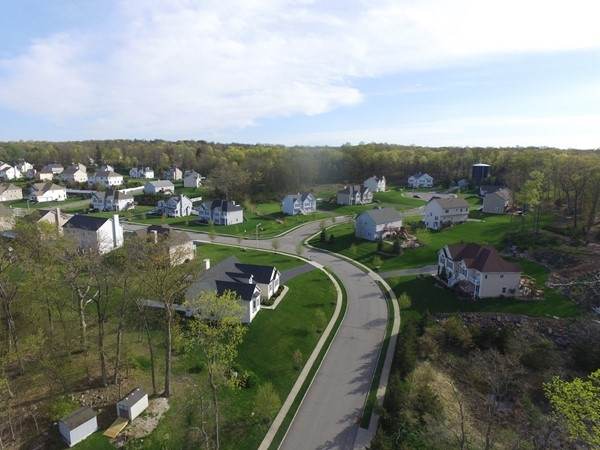Aerial view of Estates of Briarcliff