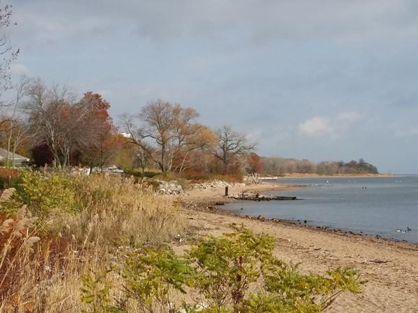 Tottenville shore at Raritan Bay