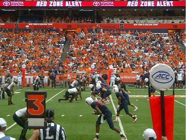 Great seats for SU football game