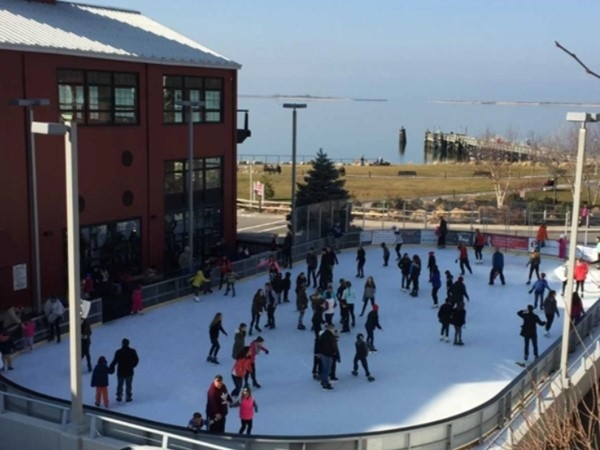 Join the Port Jefferson community for some ice skating fun this winter at The Rinx