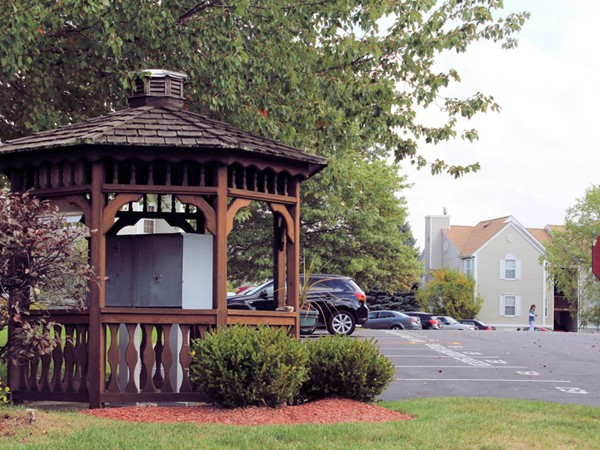 Pretty gazebo in Washington Green