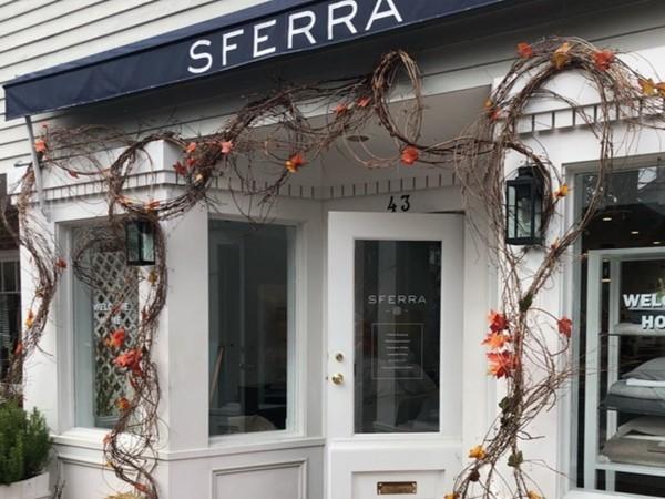 SFERRA is an Italian linens store