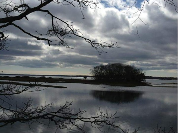 Cold beauty of Shelter Island