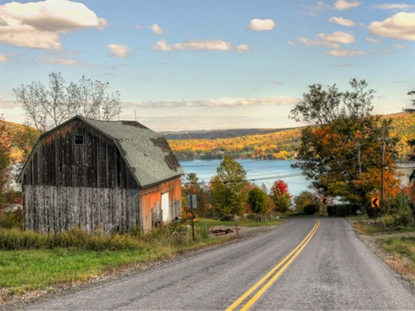 A best kept secret is that fall foliage in the Finger Lakes rivals that found in New England