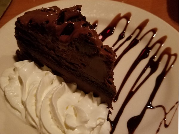 Ultimate Chocolate Cake at Mr. Dominic' s at the Lake