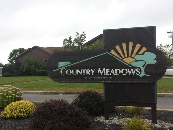Entrance to Country Meadows