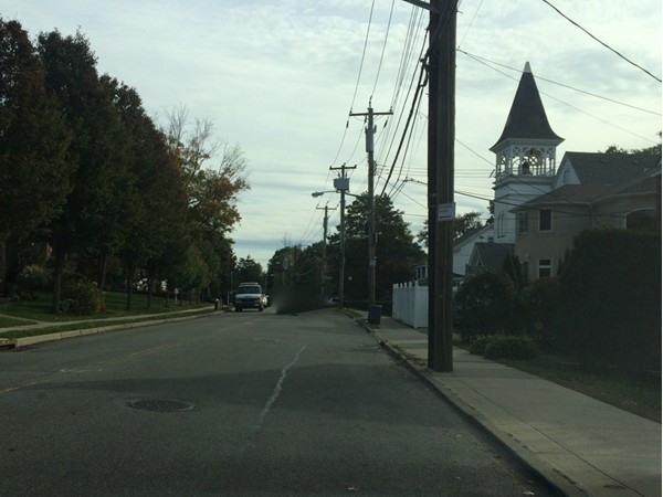 Amboy Road, right through lovely Prince's Bay