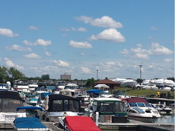 River Oaks Marina. Located at the corner of East River and Whitehaven, next to Byblos Niagara