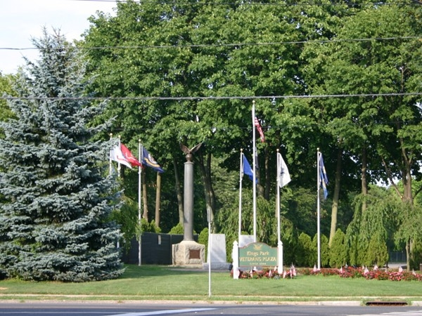 Veterans Plaza On Main and Church Street