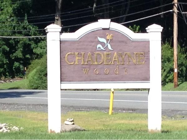 Chadeayne Woods Subdivision