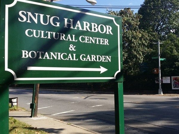 Snug Harbor Cultural Center & Botanical Garden. A historical place to visit on Staten Islands North Shore
