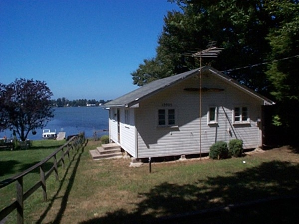 Small cottage on Blind Sodus Bay off Lake Ontario, east of Port Bay