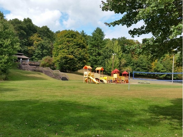 Town Park - play area for the kids