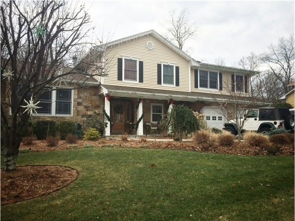 A typical home in Maple Knolls