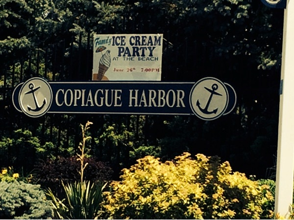 Copiague Harbor entry - think you missed the ice cream party?