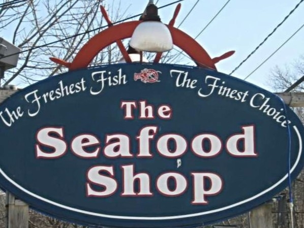 Pick up some seafood on the way to your home in the Hamptons
