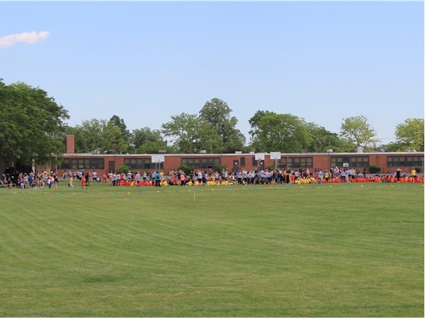 What great weather we had today for the Oceanside School # 8 Field Day