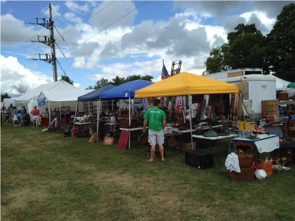Another banner week at the Bouckville Antique Show