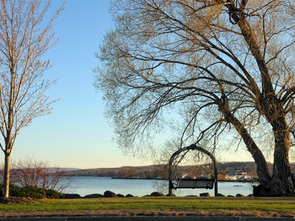"Canandaigua got its name from the Senecas, and means ""The Chosen Spot."""