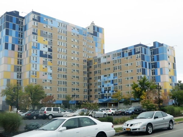 New subsidized rent high rise apartments on Mr. Hope in the Southwedge
