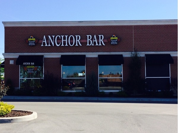 The new Anchor Bar location in Williamsville