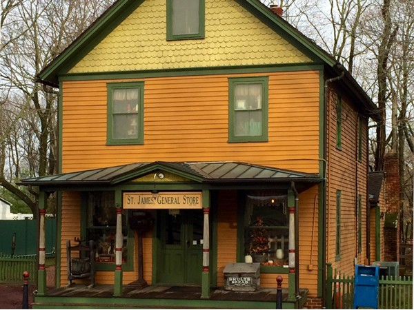 St James General Store was established in 1857 and is a huge part of Long Islands history