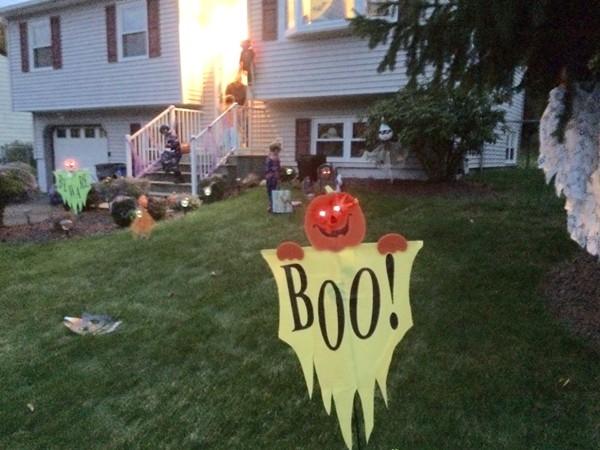 Halloween on Newbury St
