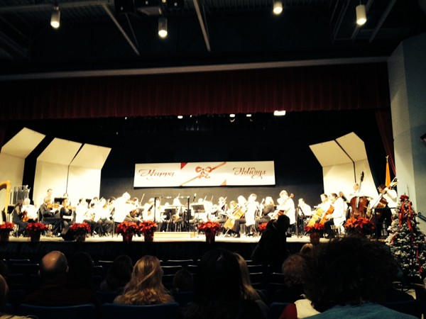 Rochester Philharmonic Orchestra annual Holiday concert in Livonia