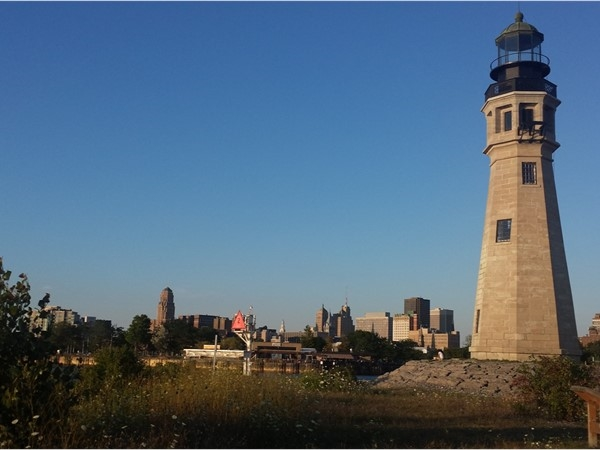 The Buffalo Lighthouse is one of Buffalo's oldest structures still standing in its original location