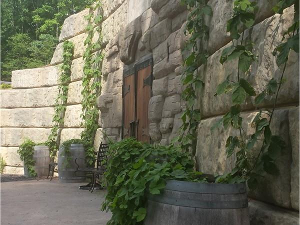 Bashakill Winery cellar