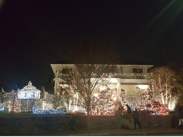 Christmas time in Dyker Heights