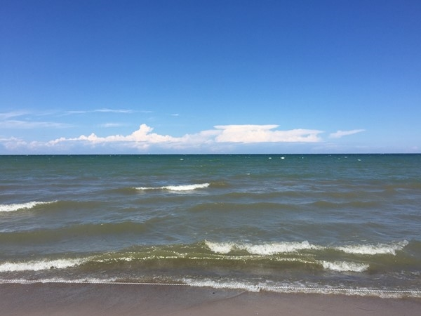 Beautiful Lake Ontario at Durand Eastman Beach