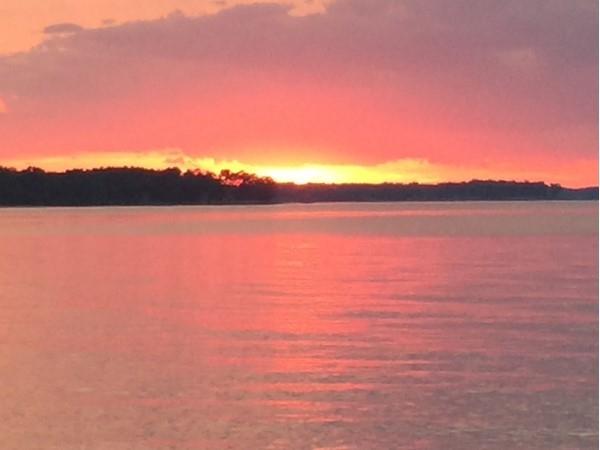 Sunset at Montauk Point State Park