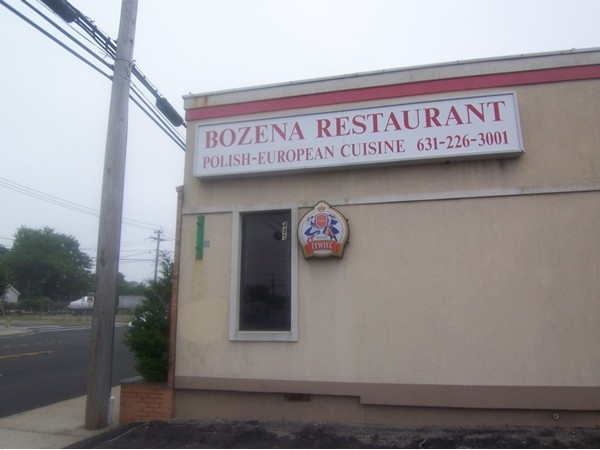 Bozena Restaurant. Very popular polish restaurant in Lindenhurst